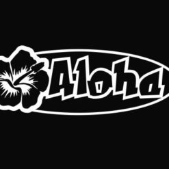 Aloha Hawaii Stickers for Cars - https://customstickershop.us/product-category/stickers-for-cars/