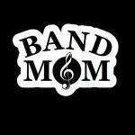 Band Mom Decal Sticker