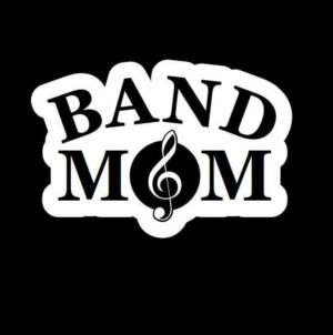 Band Mom Decal Sticker