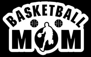 Basketball Mom Boy Decal Sticker - https://customstickershop.us/product-category/family-sports-stickers/