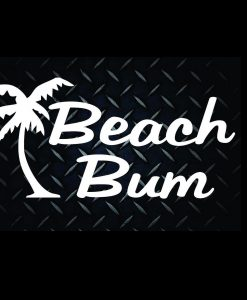 Beach Bum Stickers for Cars - //customstickershop.us/product-category/stickers-for-cars/