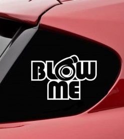 Blow Me Turbo JDM Decal Stickers - https://customstickershop.us/product-category/jdm-stickers/