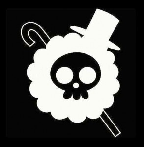 Brook Jolly Roger Skull JDM Sticker - https://customstickershop.us/product-category/jdm-stickers/