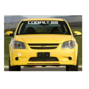 Chevy Chevrolet Cobalt ss windshield banner decal sticker