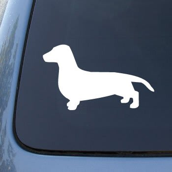 Dachshund Window Decal Sticker - https://customstickershop.us/product-category/animal-stickers/