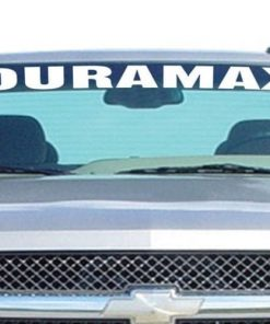 Chevy Duramax Windshield Decals - https://customstickershop.us/product-category/windshield-decals/