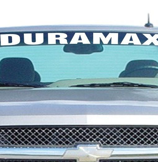 Windshield Decal Sticker Fits Chevy Duramax - Chevy windshield decals trucks