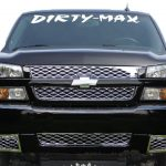 Dirty Max Duramax Windshield Decals - https://customstickershop.us/product-category/windshield-decals/