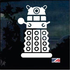 Dr Who Dalek Window Decal Sticker