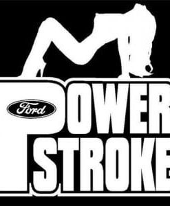 Ford Powerstroke Diesel Vinyl Decal Stickers a2