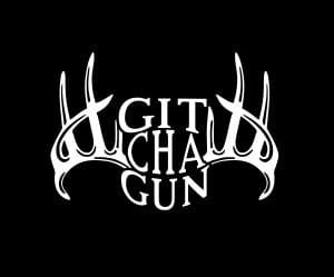 Git Cha Gun Deer Hunting Vinyl Decal Stickers