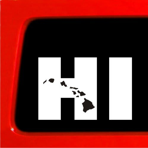 Custom Stickers Hawaii Kamos Sticker - Custom vinyl decals hawaii
