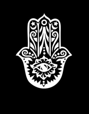 Hamsa Hand Window Decal Sticker - https://customstickershop.us/product-category/stickers-for-cars/