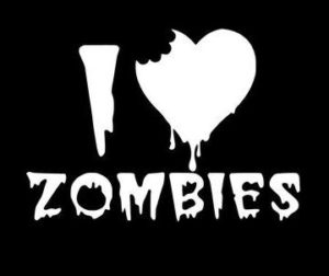 Love Zombies Zombie Stickers - https://customstickershop.us/product-category/zombie-stickers/