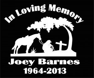 In loving Memory Decal Cowboy Cross - https://customstickershop.us/product-category/in-loving-memory-decals/
