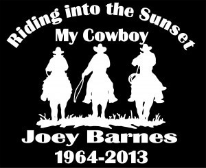 In loving Memory Decal Cowboy Riding - https://customstickershop.us/product-category/in-loving-memory-decals/