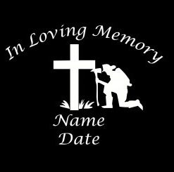 loving Memory Decal Firemen - //customstickershop.us/product-category/in-loving-memory-decals/