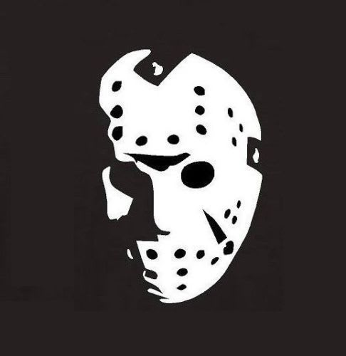 Jason Voorhees Vinyl Decal Stickers - Car decal stickers