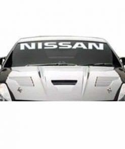 NIssan windshield Decal Sticker Banner