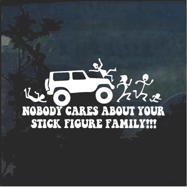 "Vinyl Decal Sticker Nurse stick Family Car Truck Bumper Window JDM Fun 7/"""