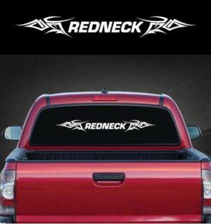Redneck Tribal Rear Window Decal Sticker