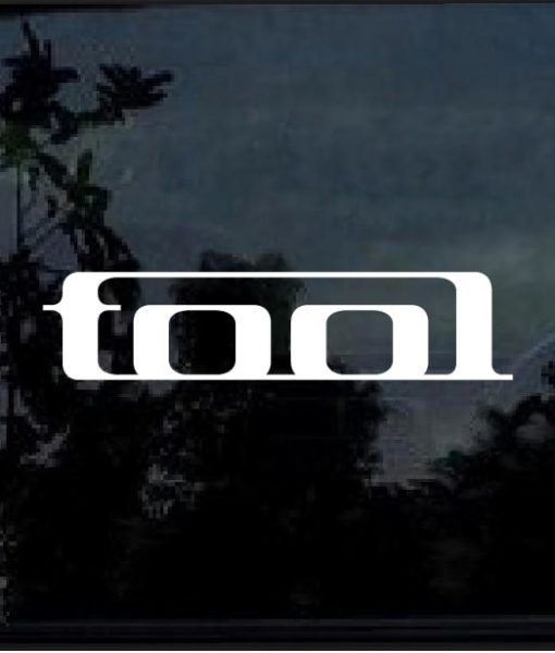 Tool band decal sticker
