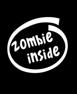 Zombie Inside Zombie Stickers - //customstickershop.us/product-category/zombie-stickers/