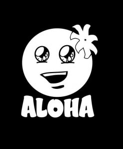 Aloha Hawaii Smile Stickers for Cars - https://customstickershop.us/product-category/stickers-for-cars/