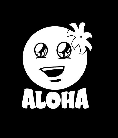 Aloha hawaii smile stickers for cars http customstickershop us product