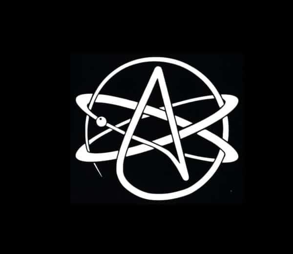 Atheist symbol decal sticker custom sticker shop atheist symbol stickers for cars httpcustomstickershopproduct biocorpaavc Choice Image