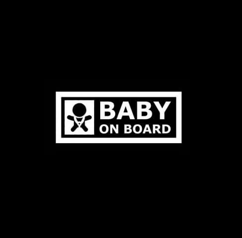 Baby on board II decal