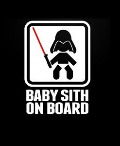 Baby Sith On Board Decal Sticker - https://customstickershop.us/product-category/baby-decal-stickers/