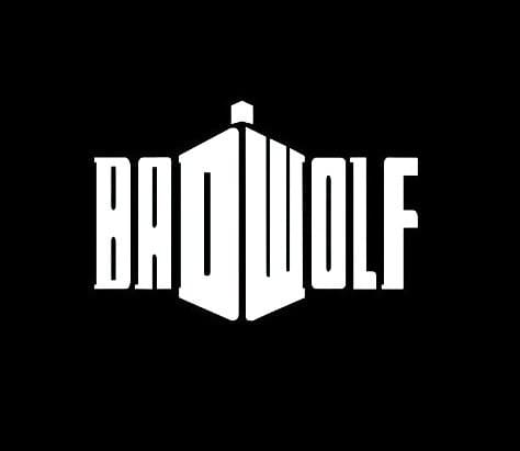 Bad Wolf Dr Who Stickers for Cars - https://customstickershop.us/product-category/stickers-for-cars/