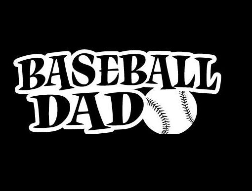 Baseball dad decal sticker http customstickershop us product category