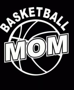 Basketball Mom II Decal Sticker - //customstickershop.us/product-category/family-sports-stickers/
