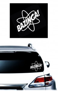 Bazinga Big Bang JDM Decal Stickers - https://customstickershop.us/product-category/jdm-stickers/
