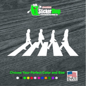 beatles abbey road decal sticker