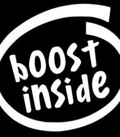 Boost Inside Funny JDM Decal - //customstickershop.us/product-category/jdm-stickers/