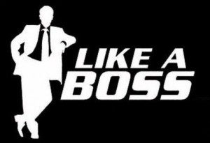 Like a Boss II Funny JDM Sticker - https://customstickershop.us/product-category/jdm-stickers/