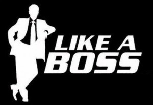 Like a Boss II Funny JDM Sticker - https://customstickershop.us/product-category/jdm-stickers/