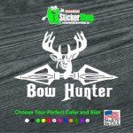 Bow Bow Hunter Broad head Hunting Window Decal Sticker