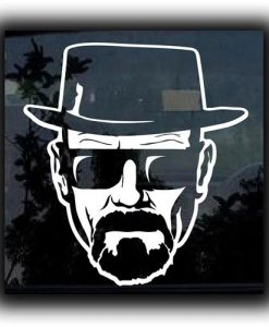 Breaking Bad Heisenberg Car Decal = https://customstickershop.us/product-category/stickers-for-cars/