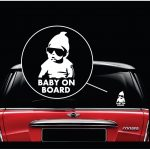 Hangover Carlos - Baby on Board Sticker