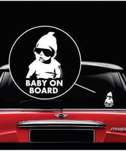 carlos hangover baby on board window decal sticker