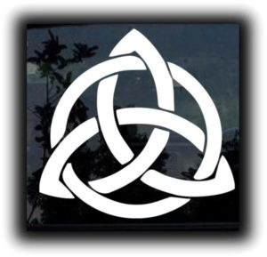 Celtic Knot Window Decal Sticker - https://customstickershop.us/product-category/stickers-for-cars/
