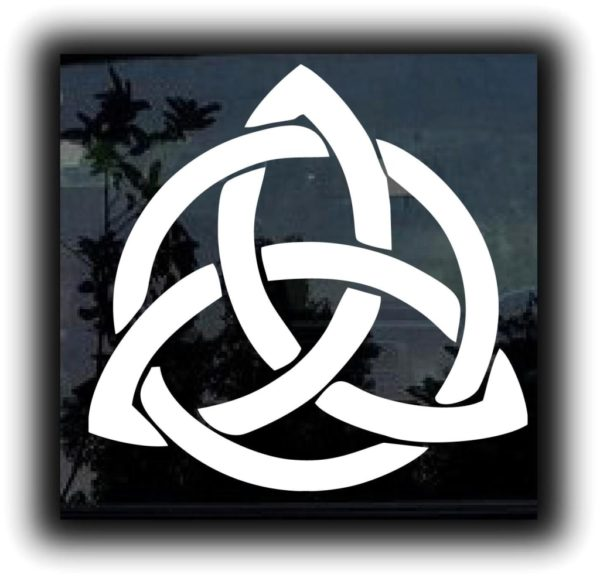 Celtic knot vinyl decal stickers custom sticker shop for Window transfers