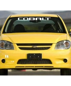 chevrolet chevy cobal windshield banner decal sticker