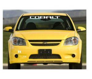 chevrolet chevy cobal windshield banner decal sticker