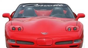 Chevy Corvette II Windshield Decals - https://customstickershop.us/product-category/windshield-decals/