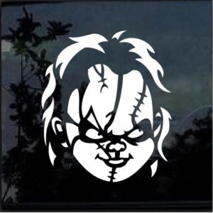 chucky childs play widow decal sticker